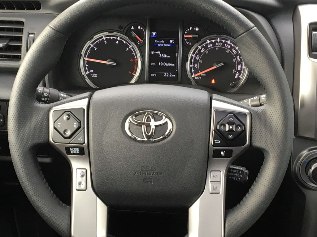 Silver[Classic Silver Metallic] 2021 Toyota 4Runner Limited Odometer Photo in Kelowna BC