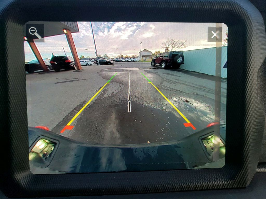 Grey 2021 Jeep Gladiator Central Dash Options Photo in Fort Macleod AB