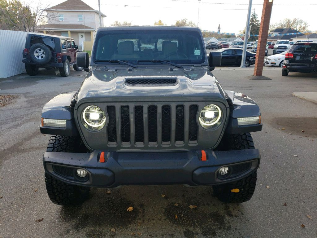 Grey 2021 Jeep Gladiator Left Front Corner Photo in Fort Macleod AB