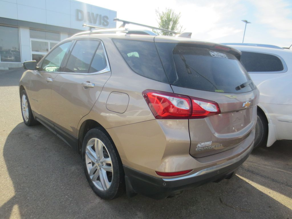Bronze 2018 Chevrolet Equinox Left Front Head Light / Bumper and Grill in Lethbridge AB