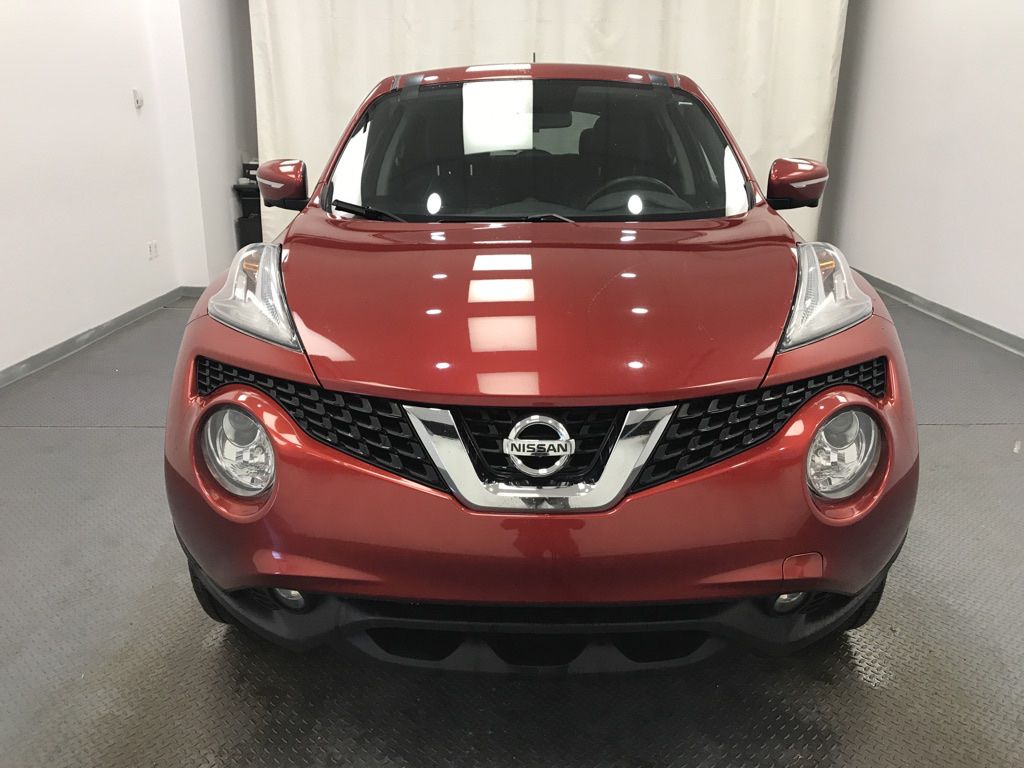 Red 2017 Nissan JUKE Left Front Head Light / Bumper and Grill in Lethbridge AB