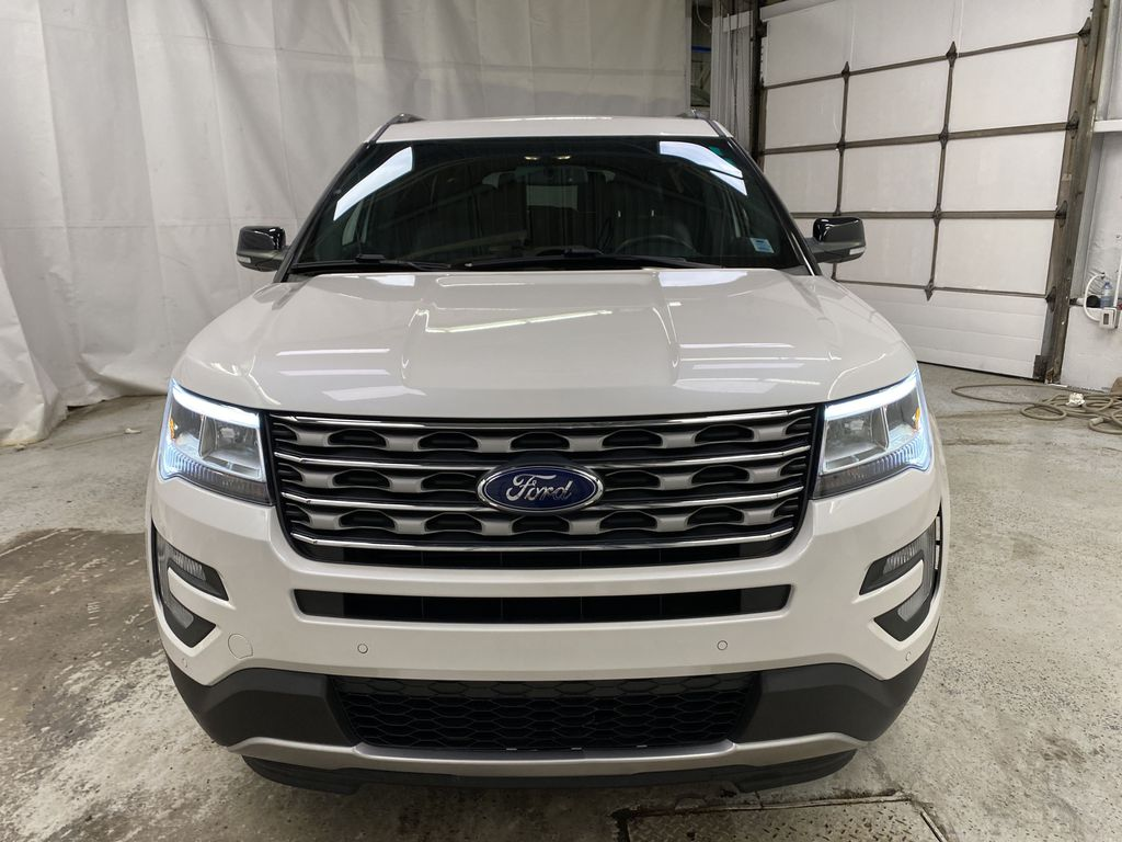 Black[Shadow Black] 2017 Ford Explorer Front Vehicle Photo in Dartmouth NS