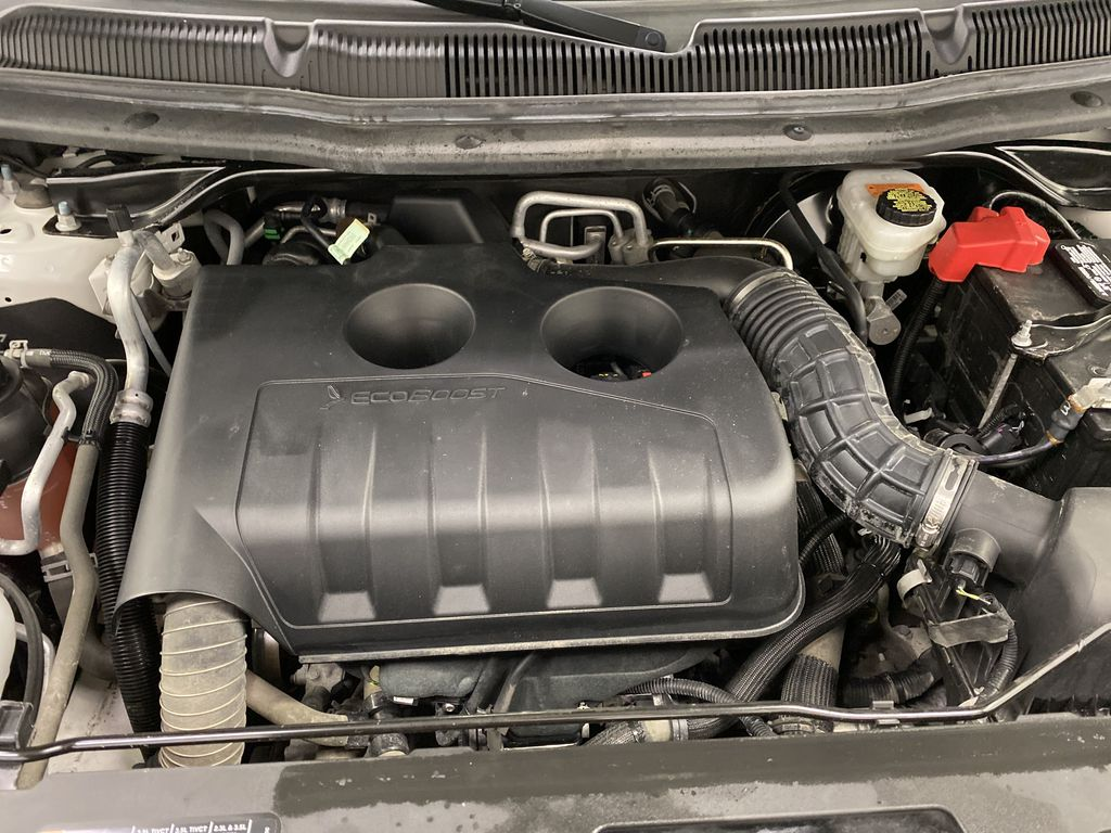 Black[Shadow Black] 2017 Ford Explorer Engine Compartment Photo in Dartmouth NS