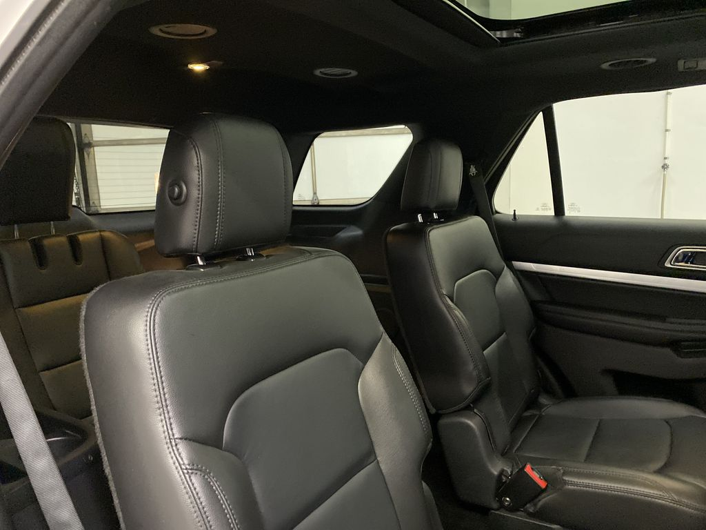 Black[Shadow Black] 2017 Ford Explorer Right Side Rear Seat  Photo in Dartmouth NS