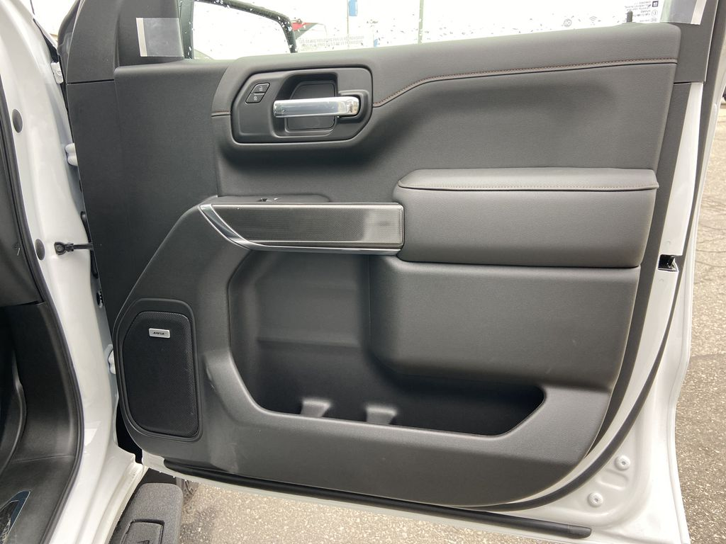 White[Summit White] 2021 GMC Sierra 1500 AT4 Right Front Interior Door Panel Photo in Calgary AB