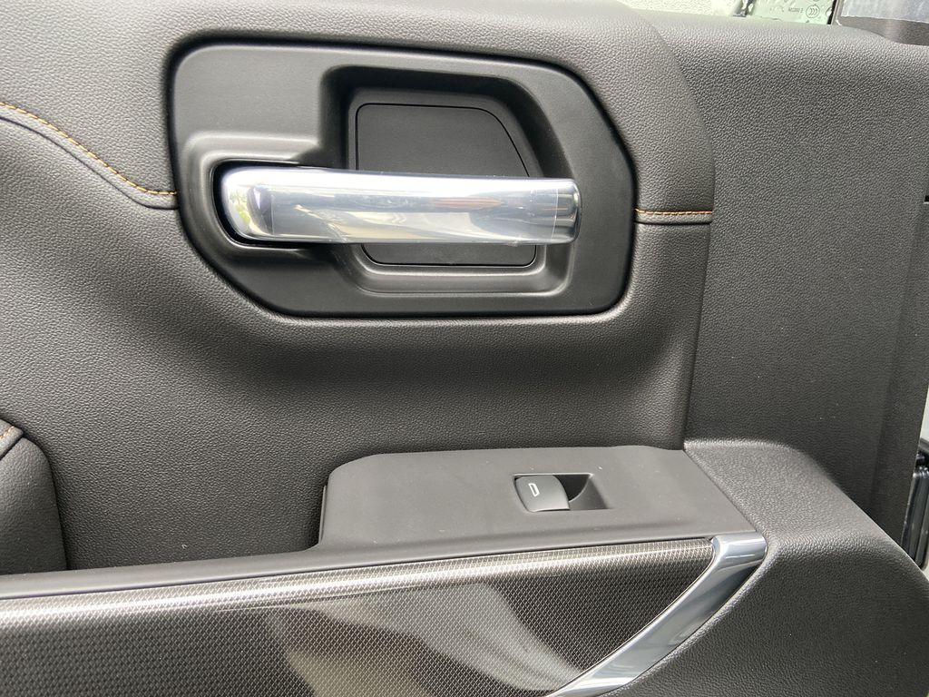 White[Summit White] 2021 GMC Sierra 1500 AT4 LR Door Panel Ctls Photo in Calgary AB