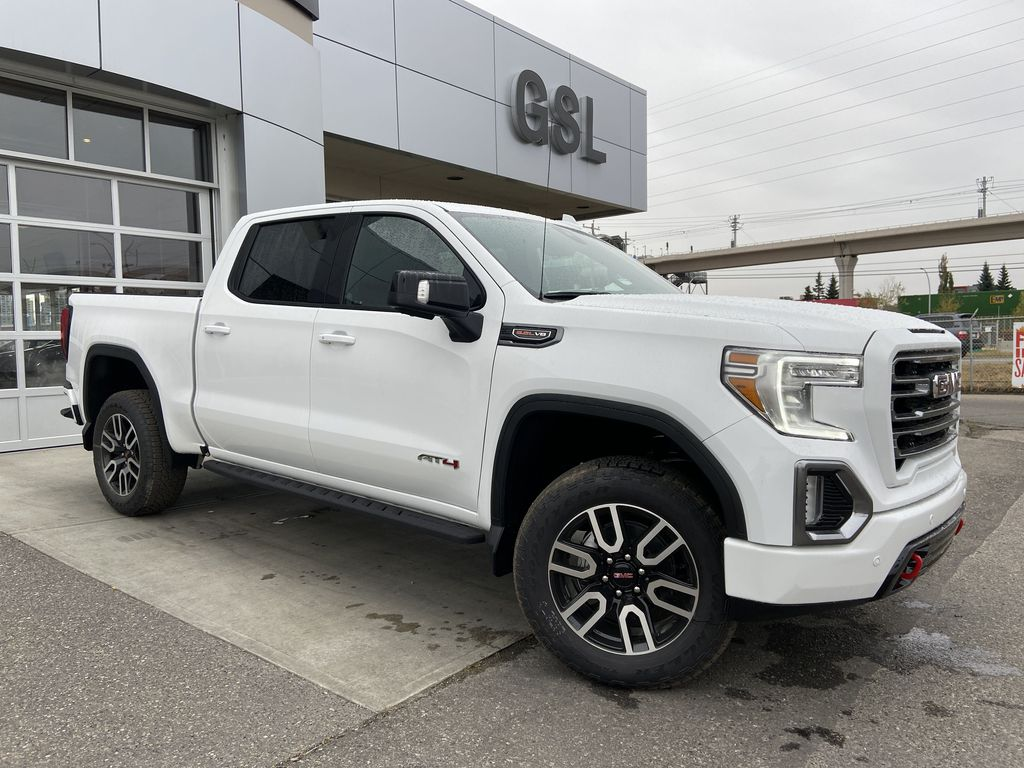 White[Summit White] 2021 GMC Sierra 1500 AT4
