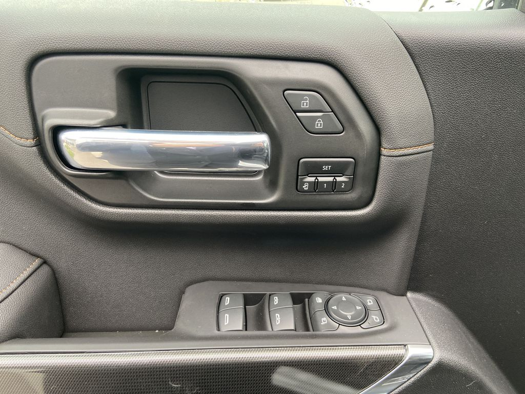 White[Summit White] 2021 GMC Sierra 1500 AT4  Driver's Side Door Controls Photo in Calgary AB