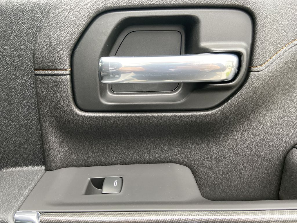 White[Summit White] 2021 GMC Sierra 1500 AT4 Passenger Rear Door Controls Photo in Calgary AB