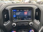 White[Summit White] 2021 GMC Sierra 1500 AT4 Radio Controls Closeup Photo in Calgary AB