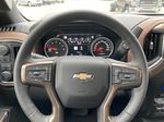 White[Iridescent Pearl Tricoat] 2021 Chevrolet Silverado 1500 High Country Steering Wheel and Dash Photo in Calgary AB
