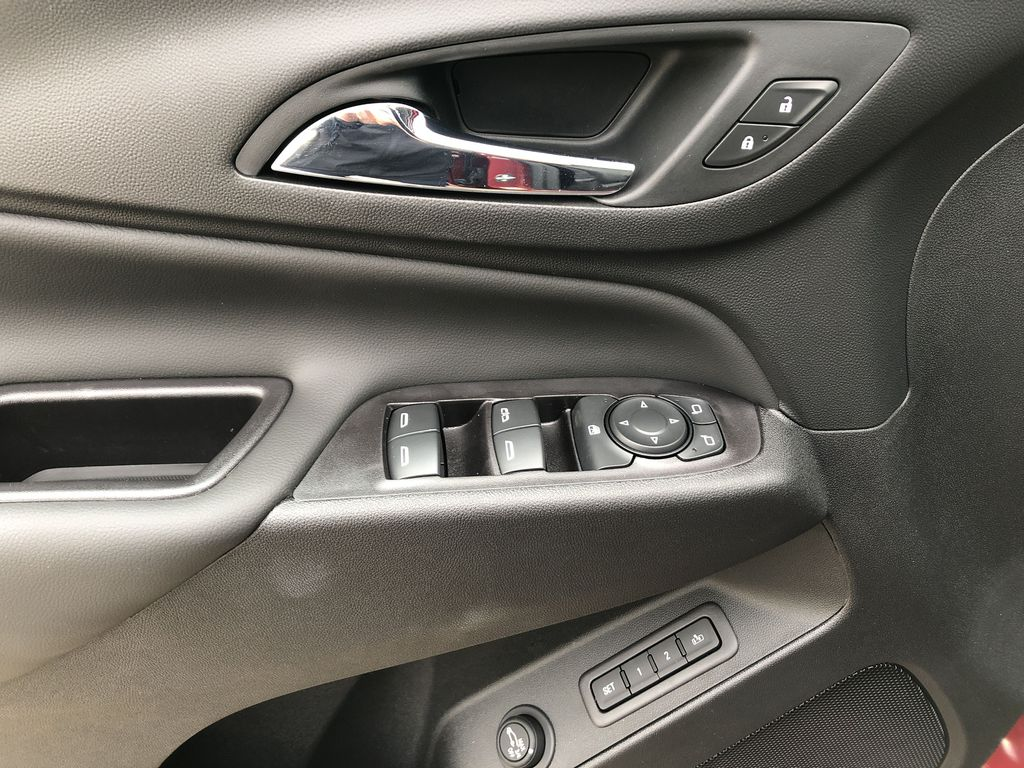 Red[Cajun Red Tintcoat] 2020 Chevrolet Equinox  Driver's Side Door Controls Photo in Edmonton AB