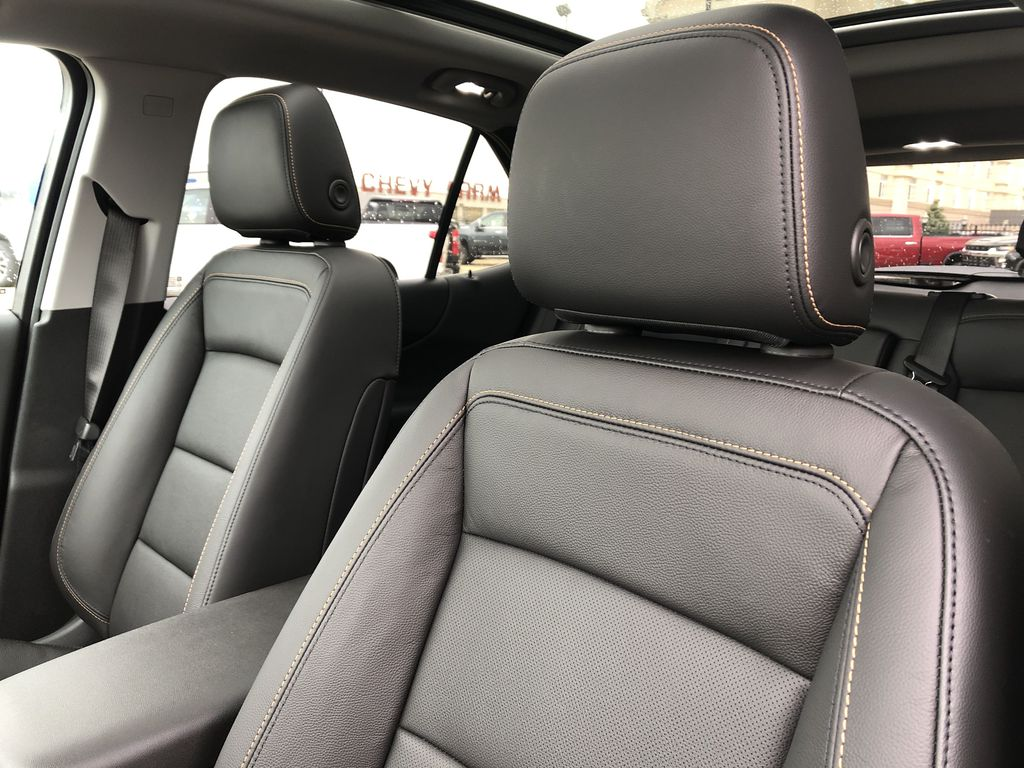 Red[Cajun Red Tintcoat] 2020 Chevrolet Equinox Left Front Interior Photo in Edmonton AB