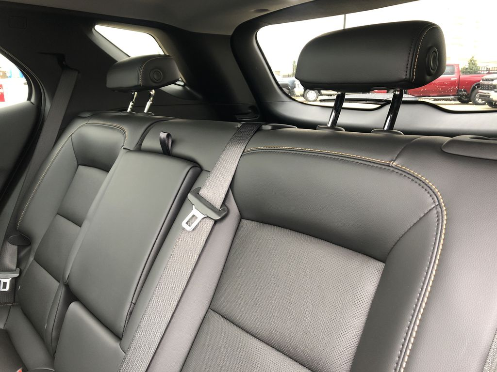 Red[Cajun Red Tintcoat] 2020 Chevrolet Equinox Left Side Rear Seat  Photo in Edmonton AB