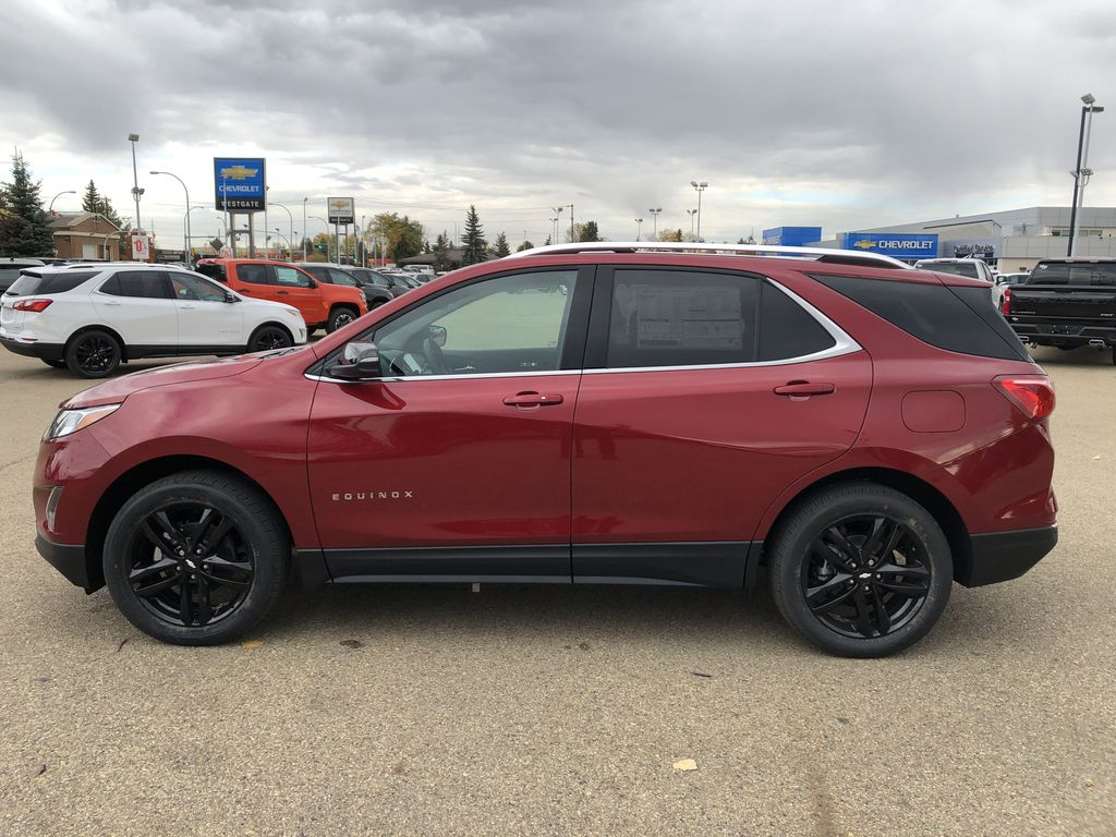 Red[Cajun Red Tintcoat] 2020 Chevrolet Equinox Left Side Photo in Edmonton AB