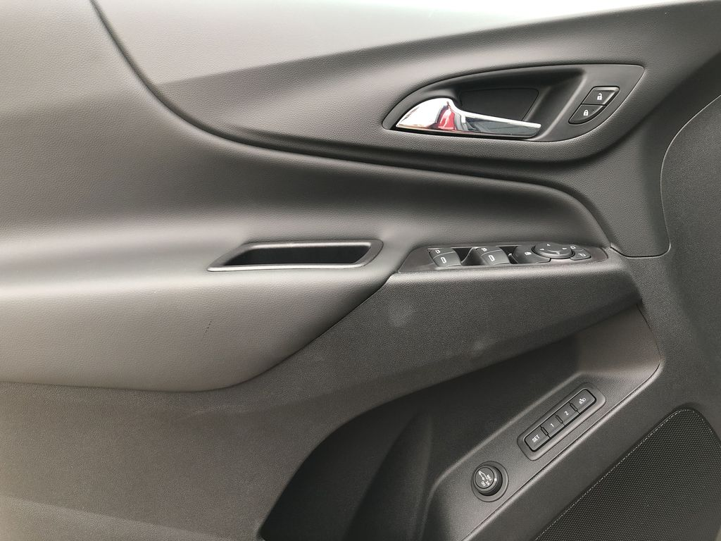 Red[Cajun Red Tintcoat] 2020 Chevrolet Equinox Left Front Interior Door Panel Photo in Edmonton AB