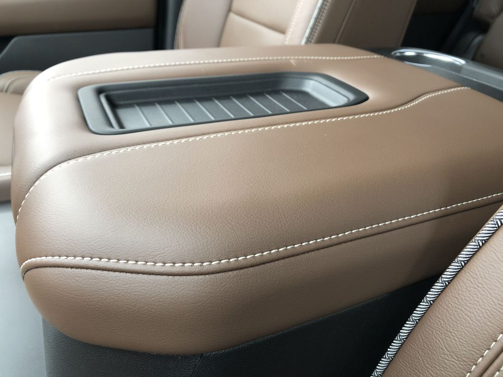 Red[Cherry Red Tintcoat] 2021 Chevrolet Tahoe Center Console Photo in Edmonton AB