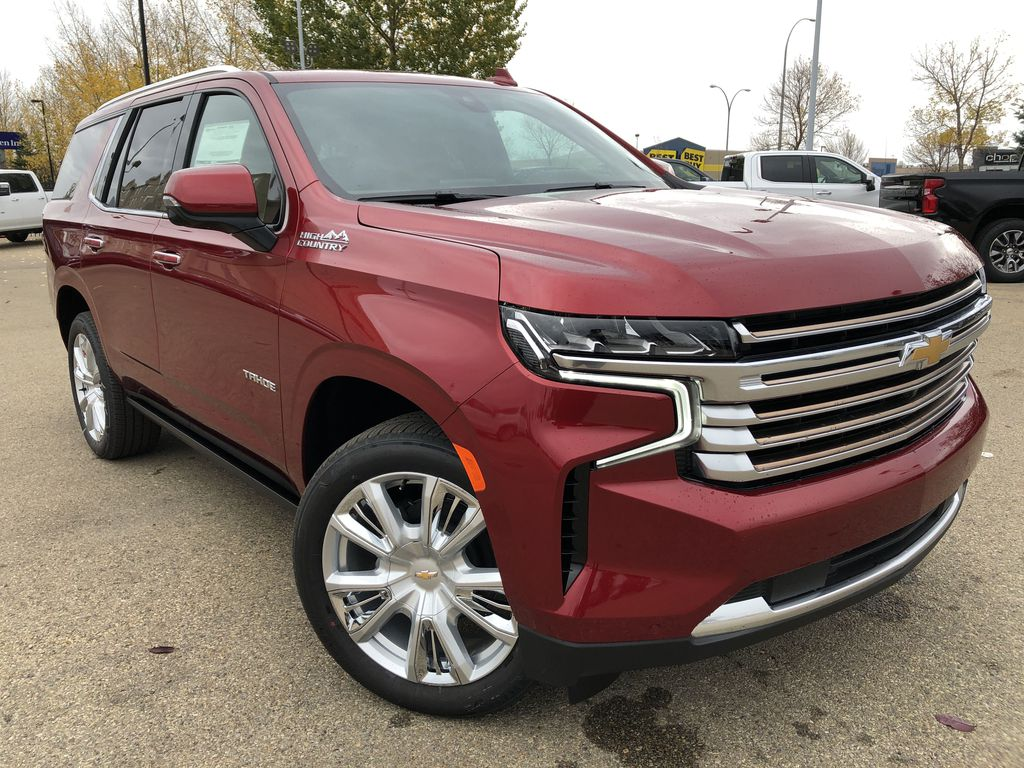 Red[Cherry Red Tintcoat] 2021 Chevrolet Tahoe
