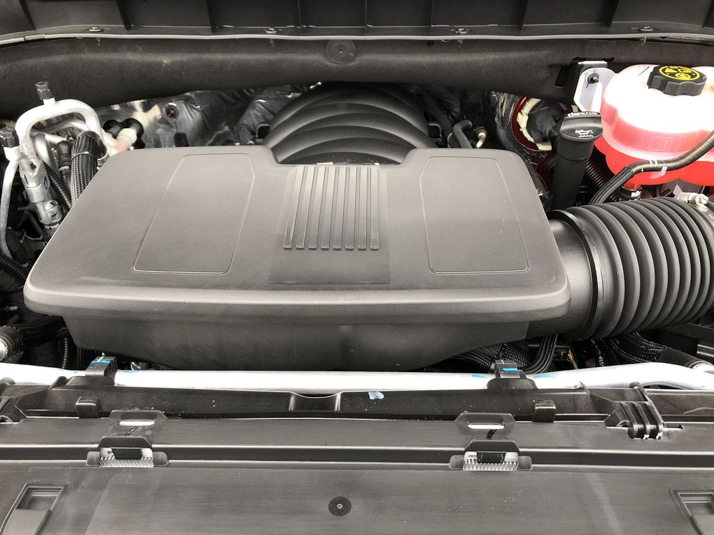 Red[Cherry Red Tintcoat] 2021 Chevrolet Tahoe Engine Compartment Photo in Edmonton AB