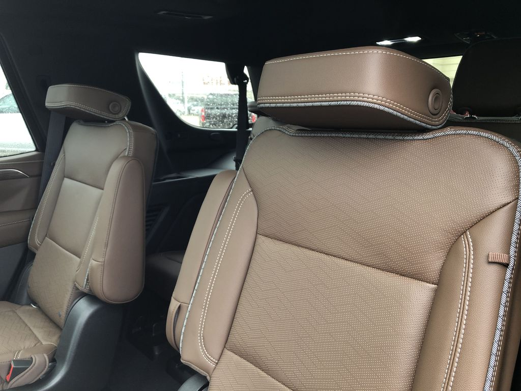 Red[Cherry Red Tintcoat] 2021 Chevrolet Tahoe Left Side Rear Seat  Photo in Edmonton AB