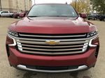Red[Cherry Red Tintcoat] 2021 Chevrolet Tahoe Front Vehicle Photo in Edmonton AB