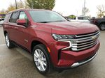 Red[Cherry Red Tintcoat] 2021 Chevrolet Tahoe Right Front Corner Photo in Edmonton AB