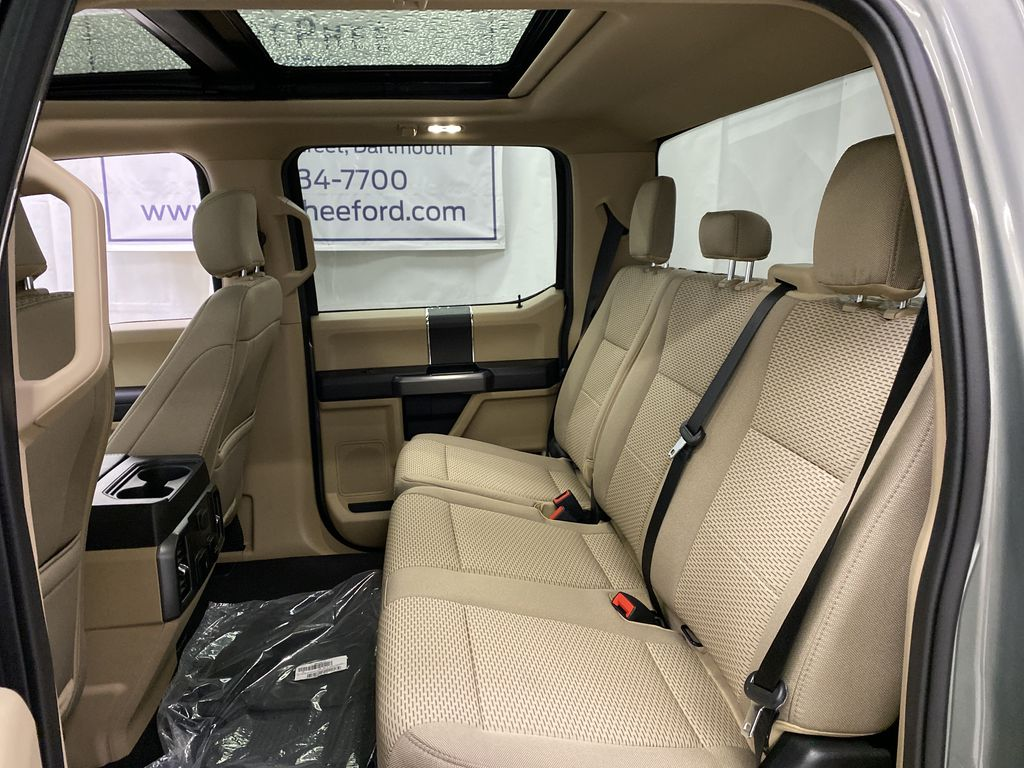 Silver[Iconic Silver Metallic] 2020 Ford Super Duty F-350 SRW Left Side Rear Seat  Photo in Dartmouth NS
