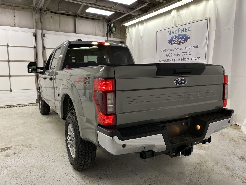 Silver[Iconic Silver Metallic] 2020 Ford Super Duty F-350 SRW Rear of Vehicle Photo in Dartmouth NS