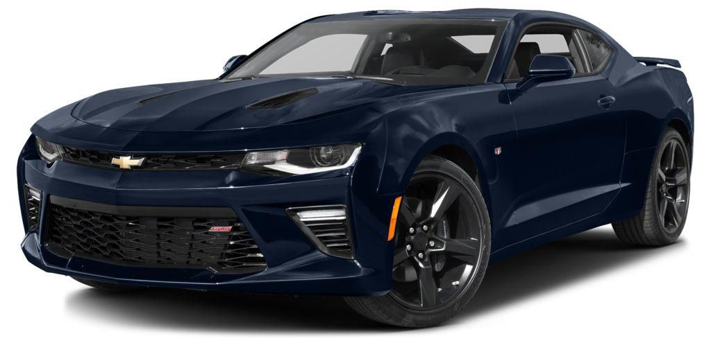 Blue 2016 Chevrolet Camaro