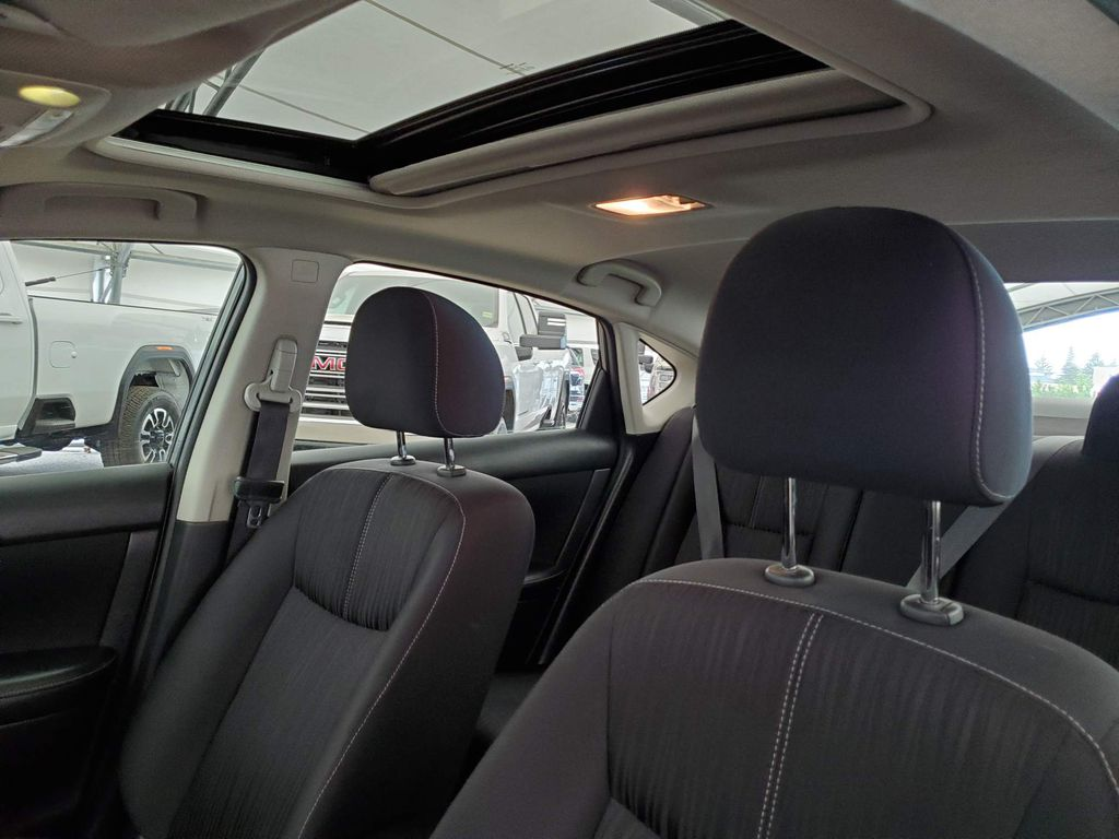 Grey 2017 Nissan Sentra Driver's Side Door Controls Photo in Airdrie AB