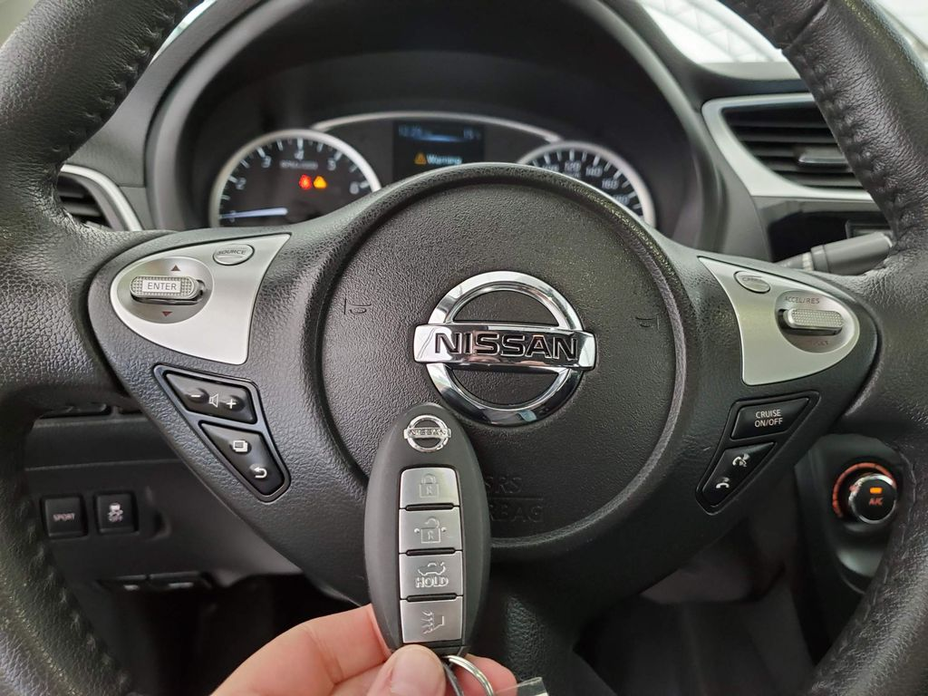 Grey 2017 Nissan Sentra Front Vehicle Photo in Airdrie AB