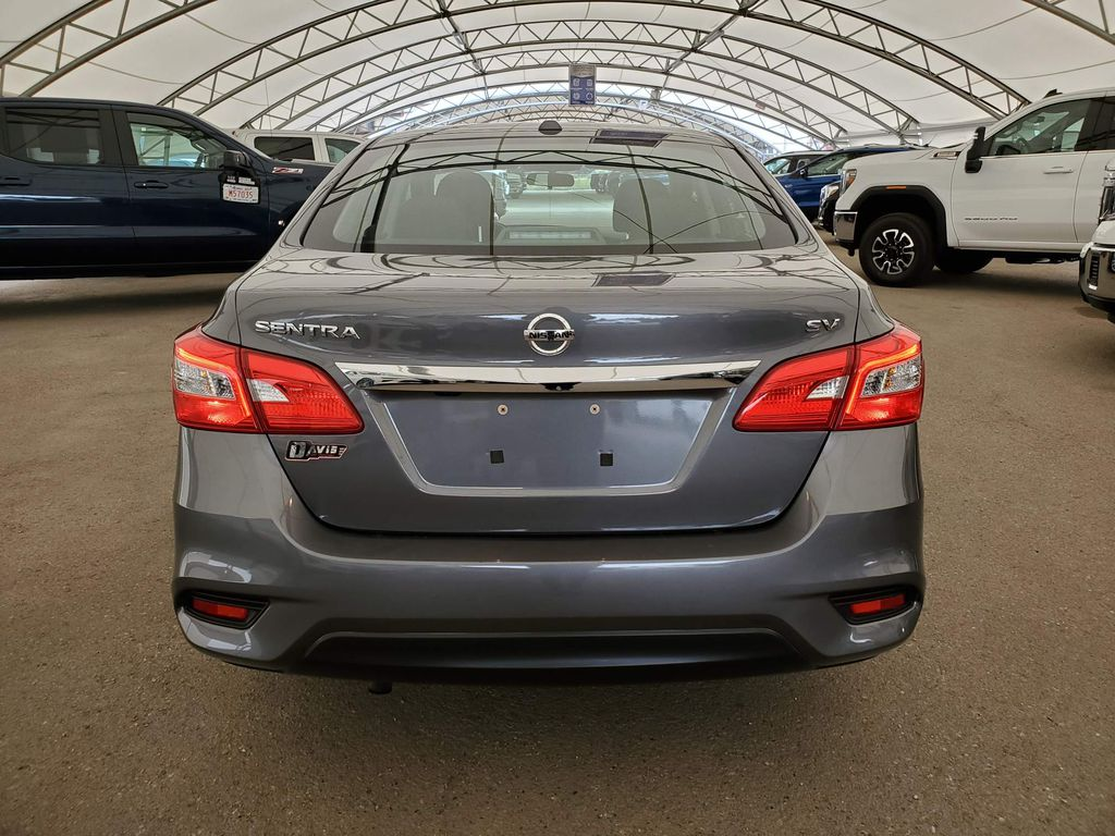 Grey 2017 Nissan Sentra Navigation Screen Closeup Photo in Airdrie AB