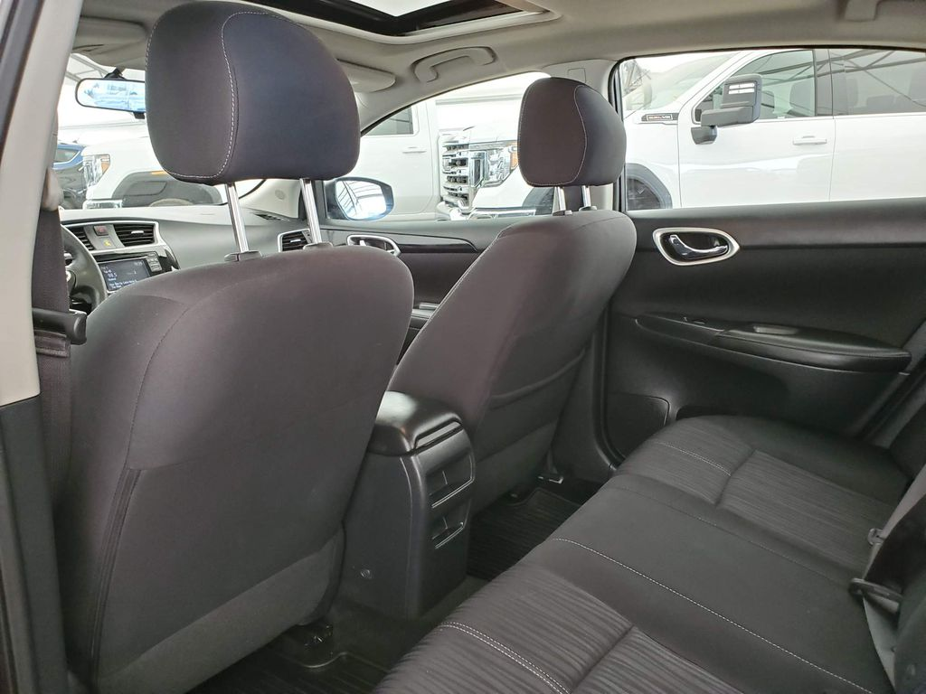 Grey 2017 Nissan Sentra Center Console Photo in Airdrie AB