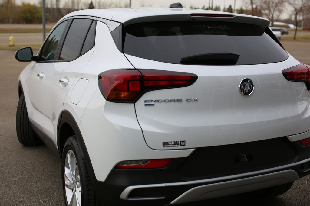White 2020 Buick Encore GX Left Front Rim and Tire Photo in Barrhead AB