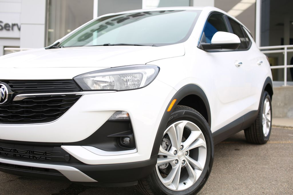 White 2020 Buick Encore GX Left Front Head Light / Bumper and Grill in Barrhead AB