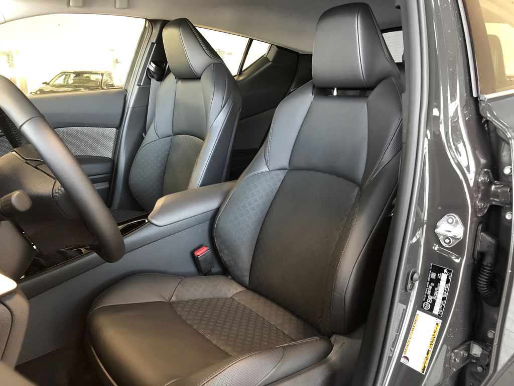 Magnetic Grey Metallic w/Black Roof 2021 Toyota C-HR Limited Right Rear Side Body Line Photo in Edmonton AB