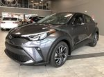 Magnetic Grey Metallic w/Black Roof 2021 Toyota C-HR Limited Left Side Rear Seat  Photo in Edmonton AB