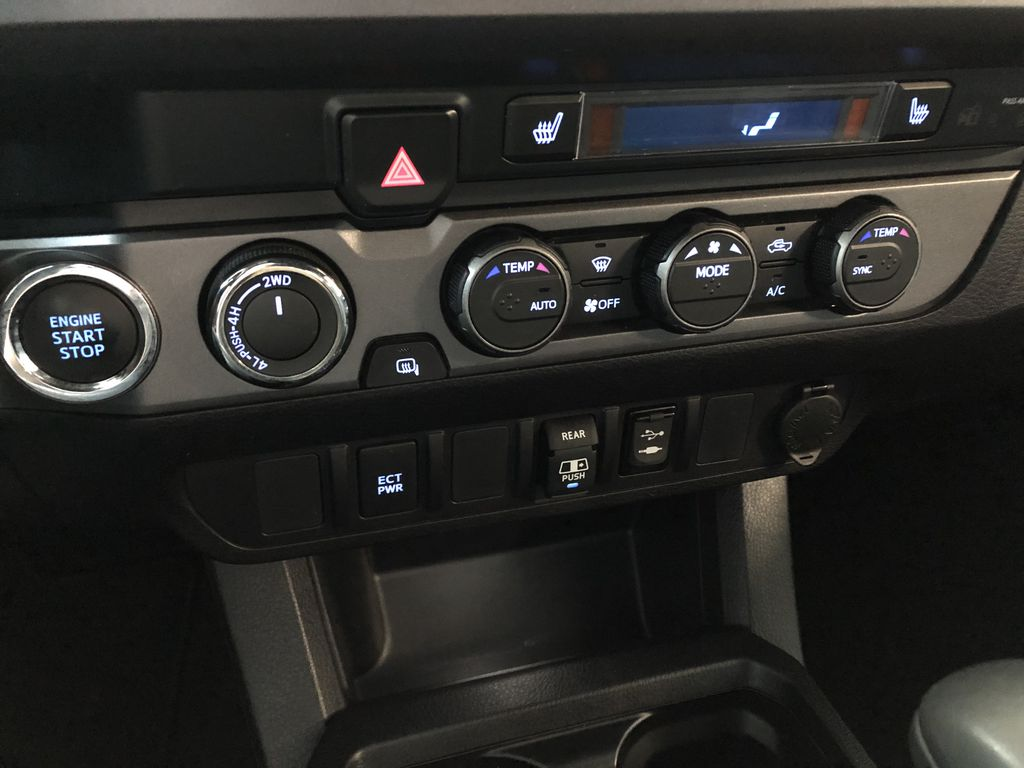 Grey 2019 Toyota Tacoma TRD Off Road Central Dash Options Photo in Edmonton AB