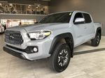 Grey 2019 Toyota Tacoma TRD Off Road Left Side Rear Seat  Photo in Edmonton AB