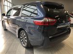 Blue 2019 Toyota Sienna Limited 7-Passenger | Extended Warranty Included Left Rear Corner Photo in Edmonton AB