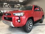 Barcelona Red Metallic 2021 Toyota 4Runner TRD Off Road Left Side Rear Seat  Photo in Edmonton AB