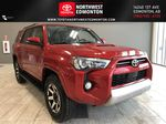 Barcelona Red Metallic 2021 Toyota 4Runner TRD Off Road Primary Listing Photo in Edmonton AB