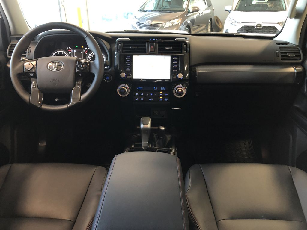 Magnetic Grey Metallic 2021 Toyota 4Runner TRD Off Road Third Row Seat or Additional  Photo in Edmonton AB