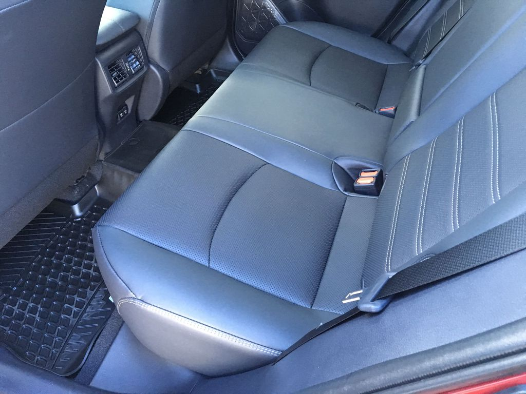03T3 Ruby Flare Pearl 2021 Toyota RAV4 Limited AWD Right Side Rear Seat  Photo in Kelowna BC