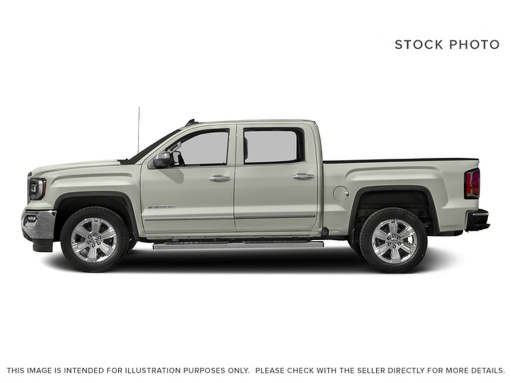 White[White Frost Tricoat] 2017 GMC Sierra 1500 Left Side Photo in Fort Macleod AB
