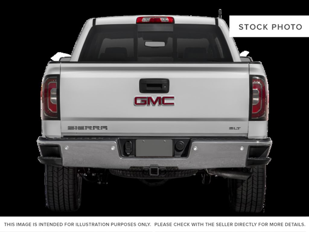 White[White Frost Tricoat] 2017 GMC Sierra 1500 Rear of Vehicle Photo in Fort Macleod AB
