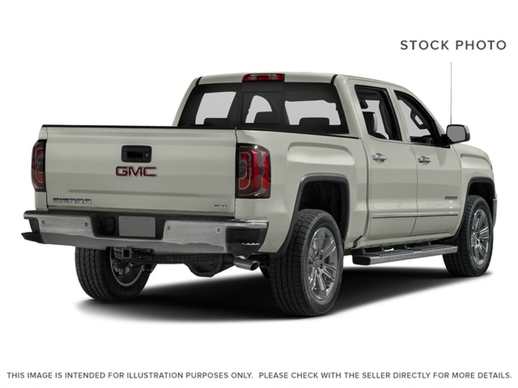 White[White Frost Tricoat] 2017 GMC Sierra 1500 Right Rear Corner Photo in Fort Macleod AB