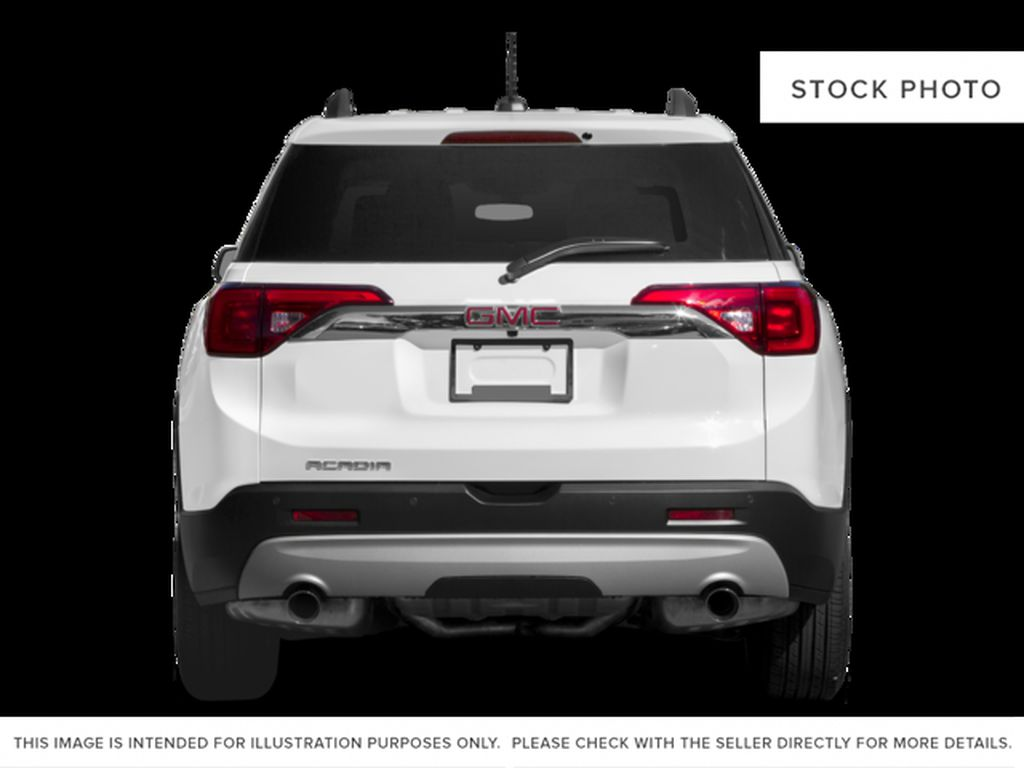 White[Summit White] 2017 GMC Acadia Rear of Vehicle Photo in Fort Macleod AB