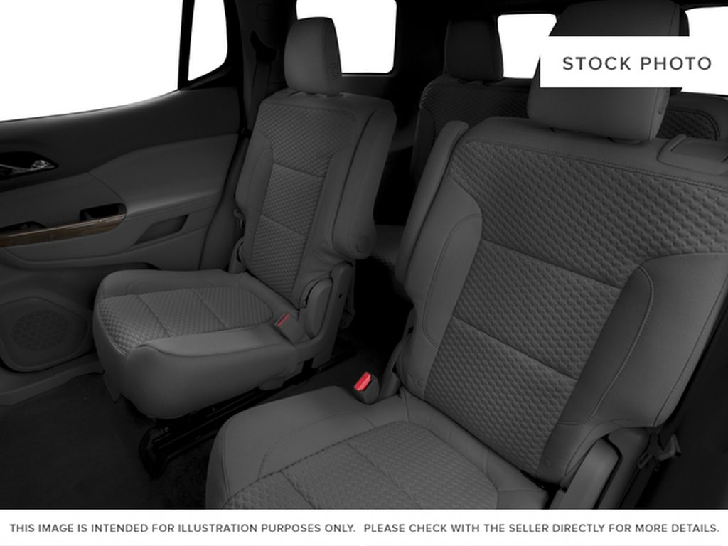 White[Summit White] 2017 GMC Acadia Left Side Rear Seat  Photo in Fort Macleod AB