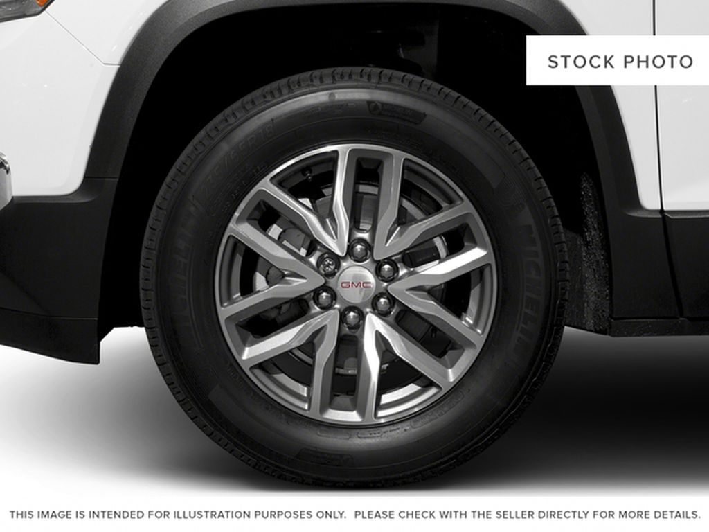 White[Summit White] 2017 GMC Acadia Left Front Rim and Tire Photo in Fort Macleod AB